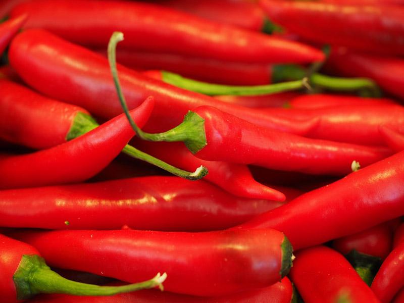 فلفل قرمز برای پروستات